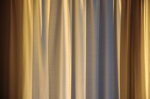 Image result for gold color curtains